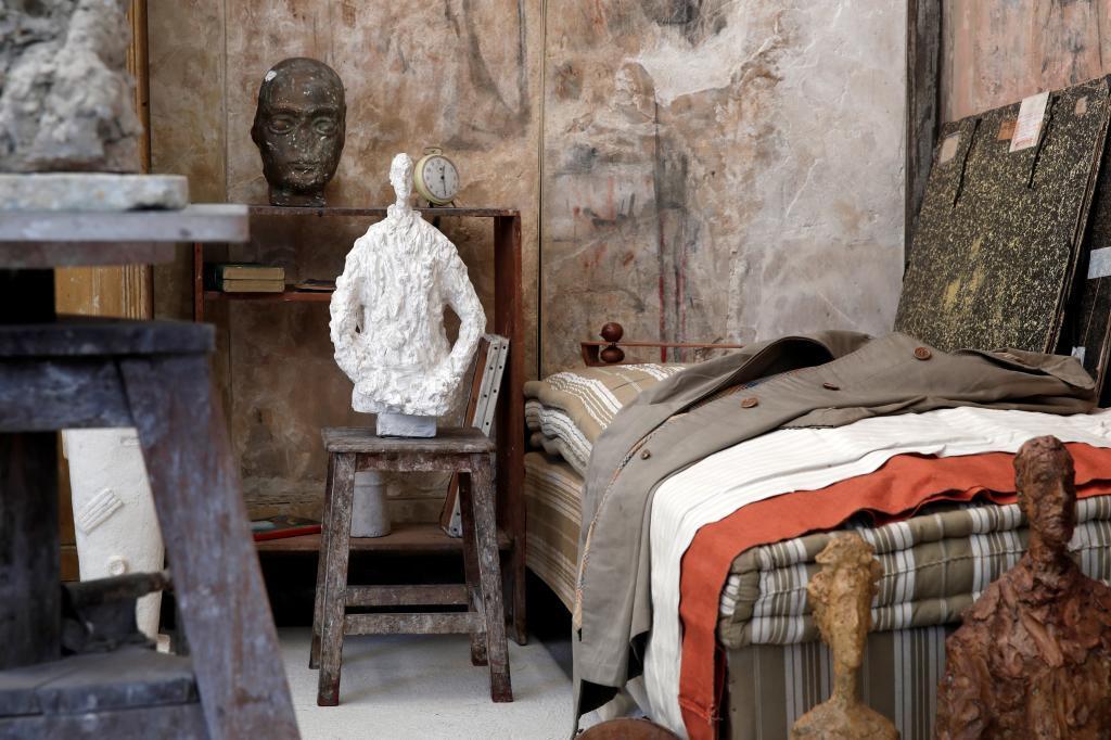 París rehabilita, por fin, el estudio de Giacometti
