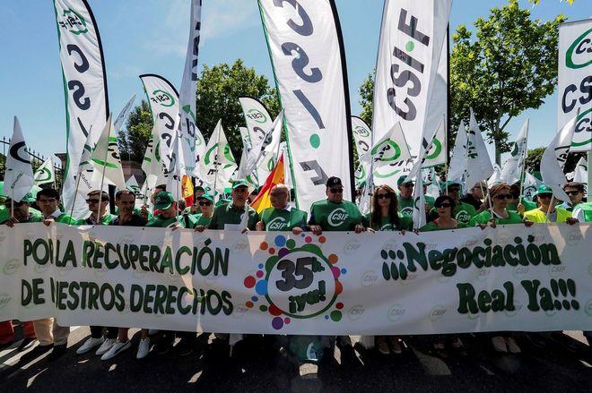 Funcionarios, pensionistas, policías y Ayuntamientos: Montoro pone fin a la