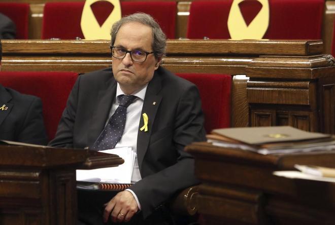 Torra podrá dar privilegios a los presos del 'procés' cuando el Gobierno los traslade a cárceles catalanas