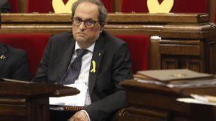 Torra podrá dar privilegios a los presos del 'procés' en Cataluña