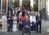 El ministro del Interior, Fernando Grande-Marlaska, junto a...