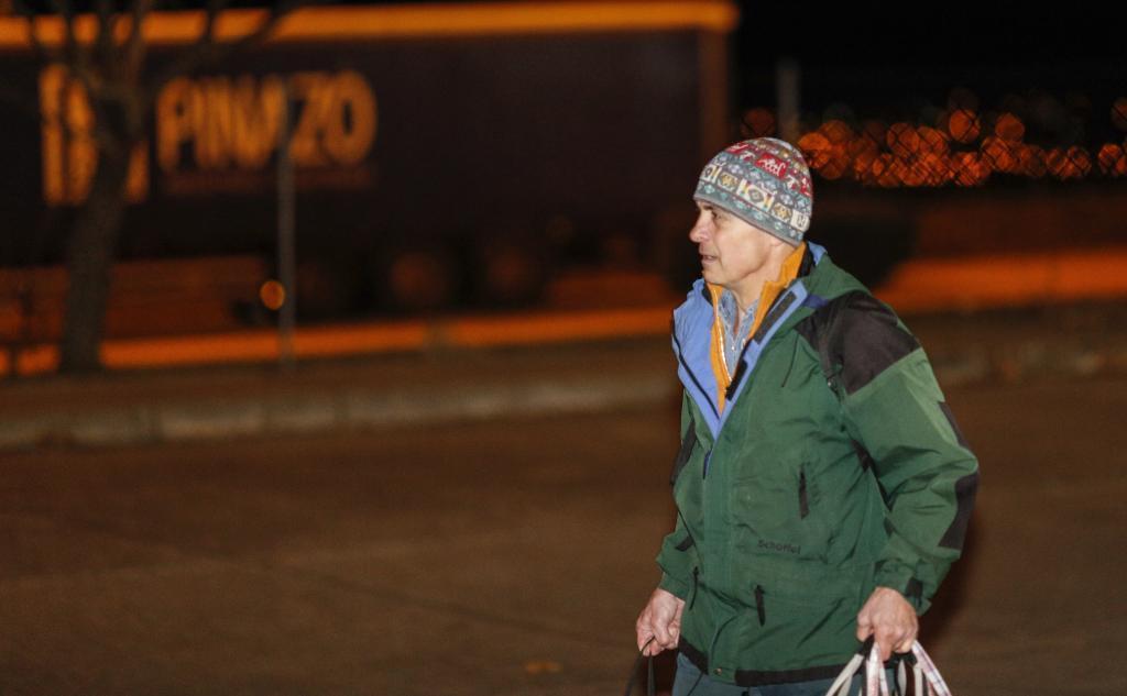 Jordi Pujol Ferrusola, el día que salió de la prisión de Soto del Real, el pasado diciembre.