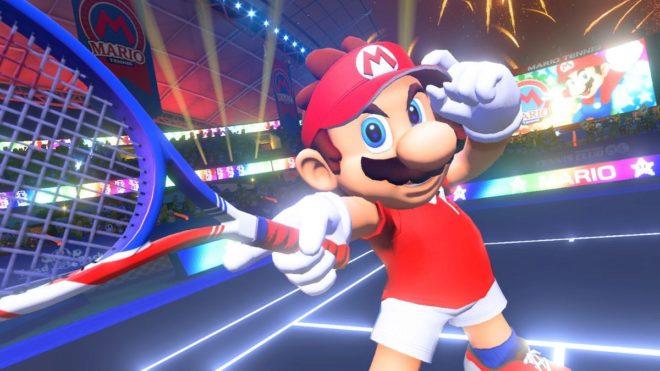 Mario Tennis Aces no se toma nada en serio a