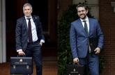 Fernando Grande-Marlaska, ministro de Interior, y Màxim HUerta, ex...