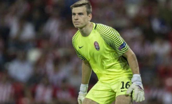 El Real Madrid anunció el fichaje del portero Andriy Lunin,