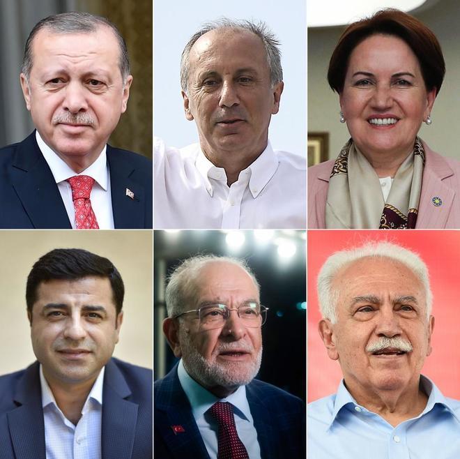 En la carrera a la Presidencia turca, que se vota