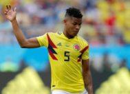 El colombiano Wilmar Barrios, durante el primer partido contra Japón.