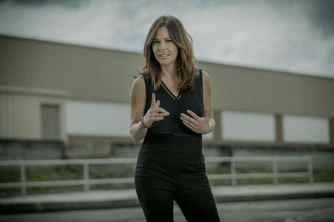 La periodista de La Sexta Mamen Mendizábal.