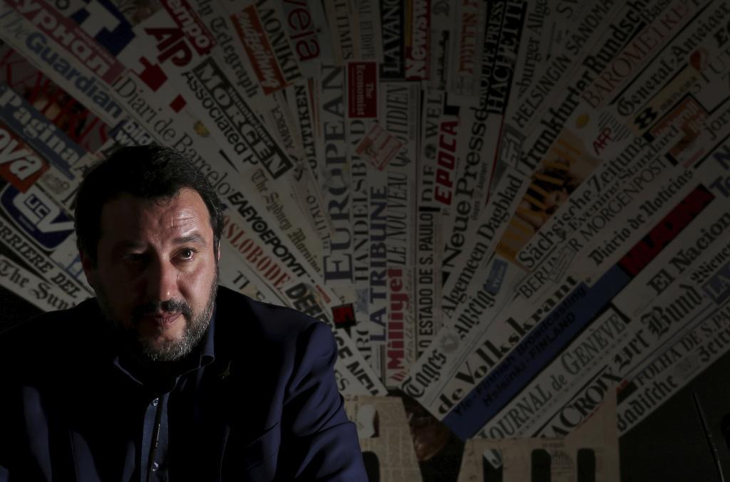Matteo Salvini se plantea ser candidato para presidir la Comisión Europea