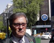 Jordi Pujol Ferrusola  tras comarecer ante la Audiencia Nacional en 2017.