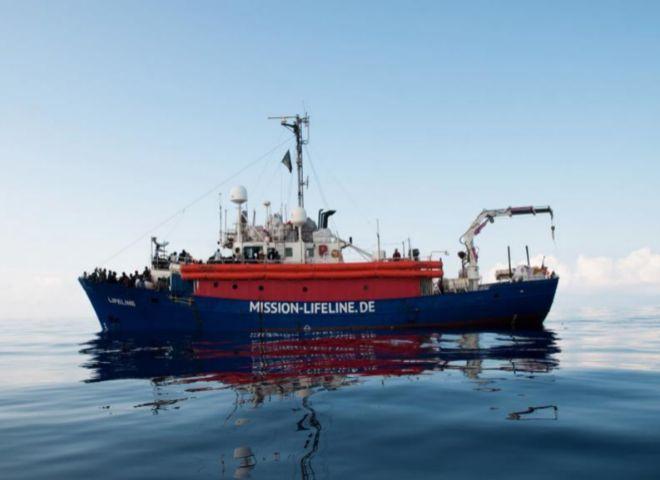 El barco de Lifeline se quedará sin provisiones el lunesLos