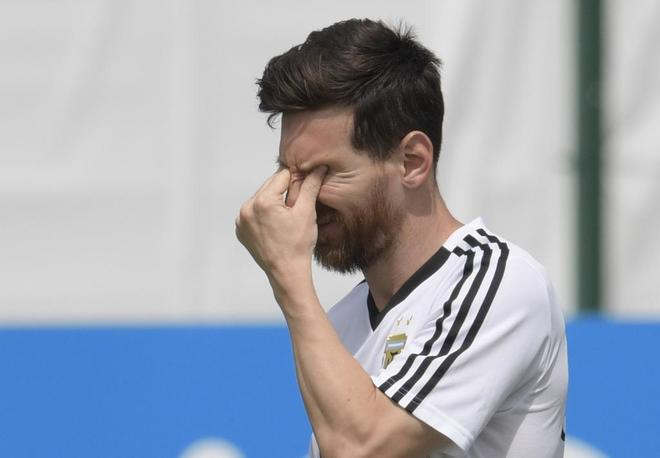La reacción argentina después de perder contra Croacia fue demasiado
