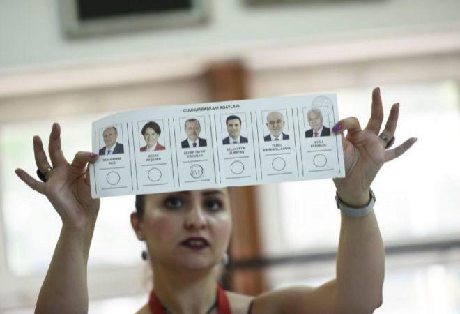 El presidente de Turquía ha obtenido un 59,6 por ciento