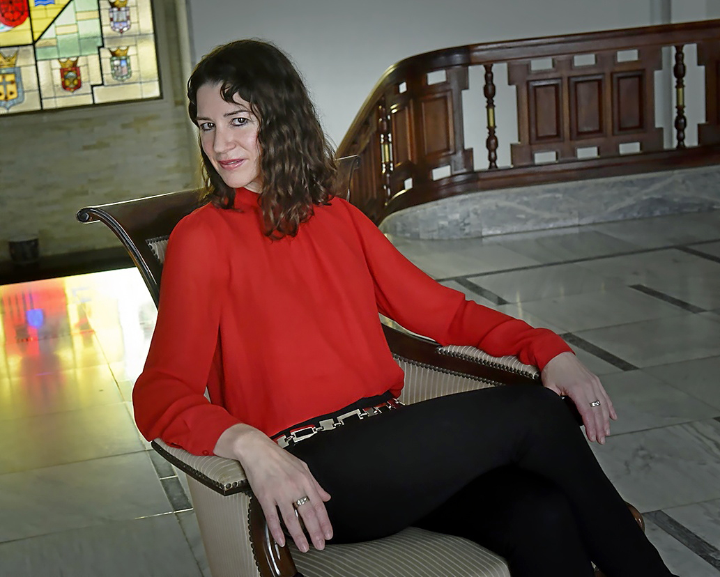 Gloria Poyatos es la presidenta de la Asociación de Mujeres