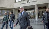 El ex vicepresidente Rodrigo Rato sale de los juzgados de la Plaza de...