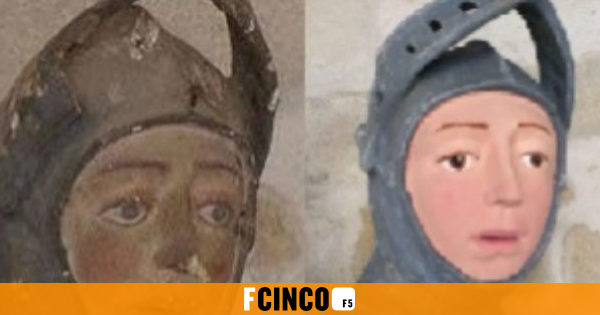 El trabajo sobre una talla de San Jorge en Estella,