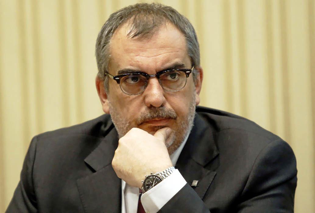 Pau Villòria, en una comparecencia parlamentaria en 2011.