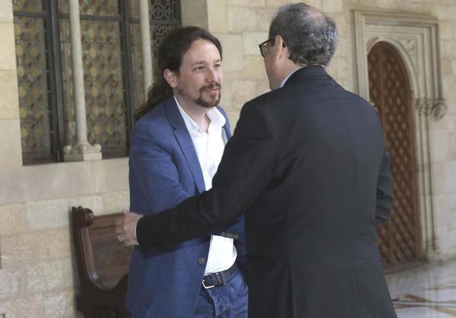El secretario general de Podemos comunica que desea visitar a