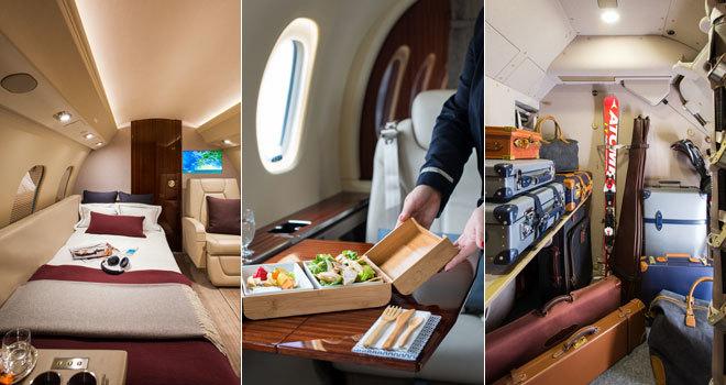 Asi Es Viajar En Un Jet Privado Por 5 000 Euros La Hora El
