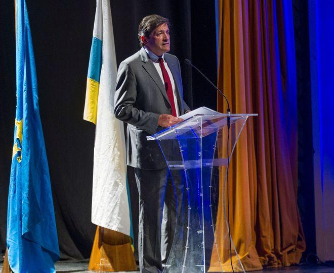 El presidente del Principado de Asturias, Javier Fernández.