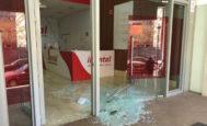 Un local de iDental destrozado tras el cierre repentino de estas clínicas en toda España.