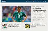 """""""Histórica desgracia del equipo nacional alemán"""""""