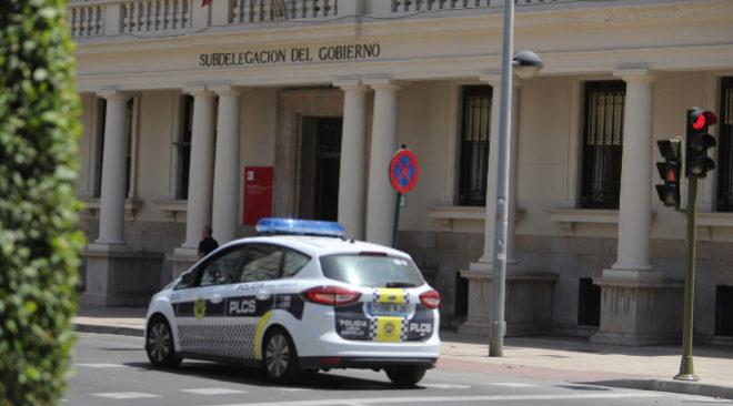 La fachada de la Subdelegación de Castellón en la plaza María Agustina.