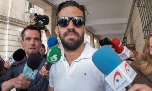 Antonio Manuel Guerrero, este lunes en el juzgado.