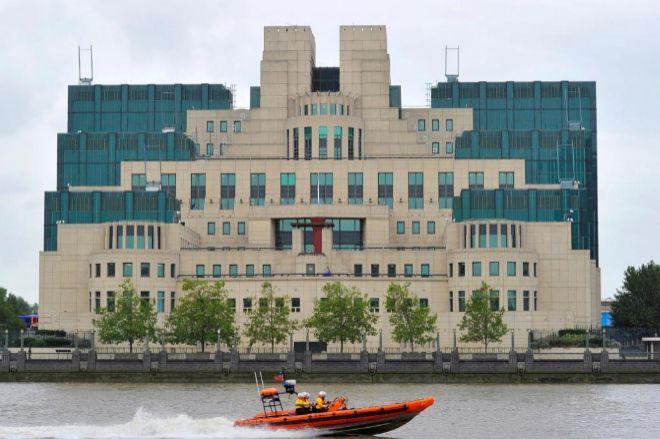 El edificio del servicio secreto exterior británico, MI6, en Londres.