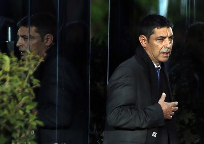 Josep Lluís Trapero, en la Audiencia Nacional el pasado marzo.
