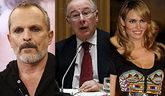 Miguel Bosé, Rodrigo Rato y Patricia Conde, entre los morosos que...