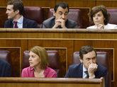 Pablo Casado, Soraya Sáenz de Santamaría y María Dolores de...