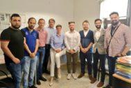 Reunión de Ciudadanos en Lleida con la Plataforma 8 de Abril.