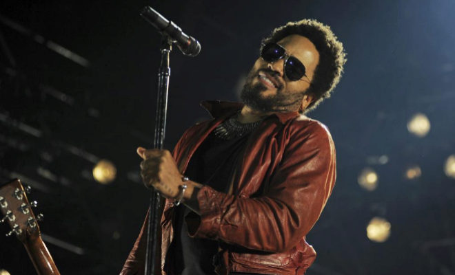 Lenny Kravitz, en un concierto en Madrid en 2015.