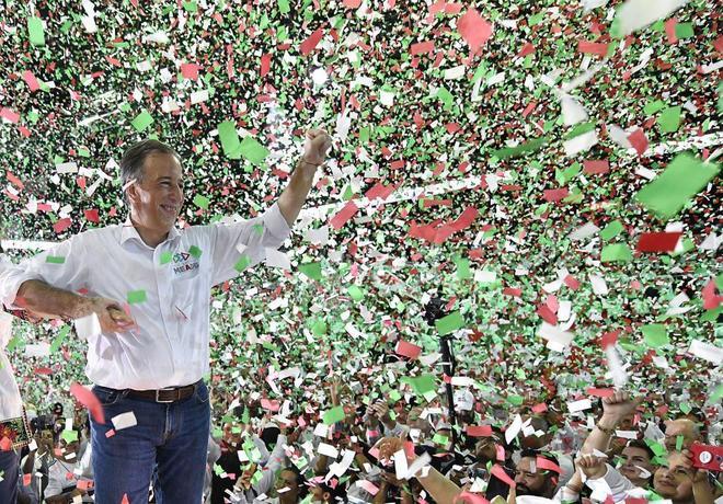José Antonio Meade, candidato por el Partido Revolucionario Institucional (PRI).
