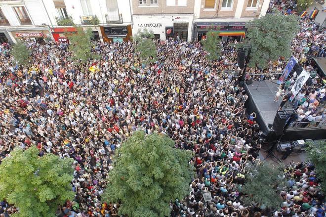 Orgullo Gay: Los vecinos de Chueca denuncian la 'barra libre' de ...