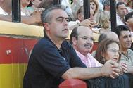 El ex alcalde de Estepona, Antonio Barrientos, junto al ex consejero Gaspar Zarrías en 2009.