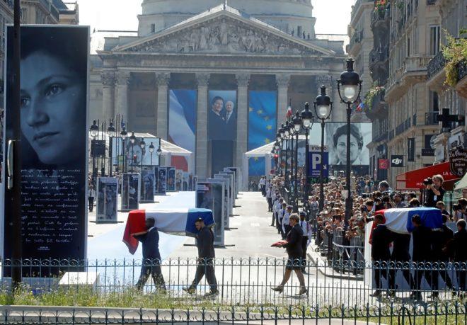 La europeísta Simone Veil sube a los cielos de los héroes de Francia