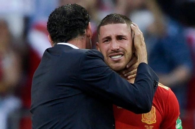 España pierde en la ruleta rusa de los penaltisEspaña perdió