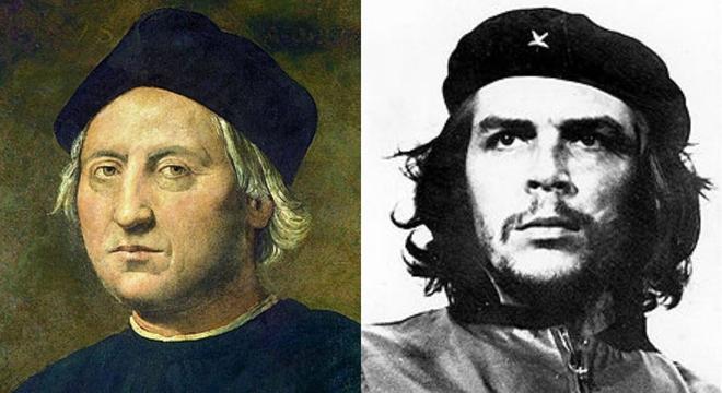 Cristóbal Colón, el Che Guevara... ¿Qué habrán heredado sus...