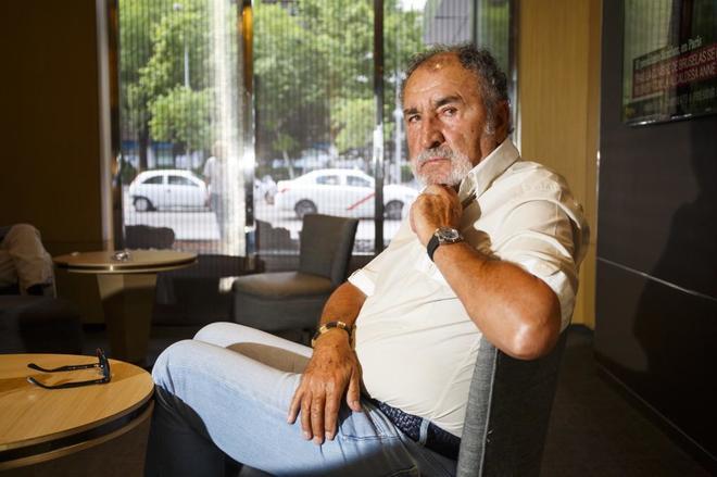 Ion Tiriac, dueño del torneo Madrid Open, durante una entrevista con EL MUNDO.