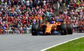 Fernando Alonso, durante el GP de Austria.