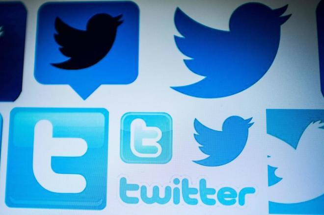 Diferentes símbolos de Twitter.