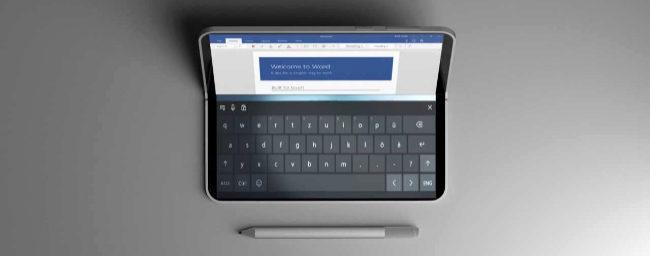 Microsoft desarrolla un móvil plegable que puede funcionar como un PC completo