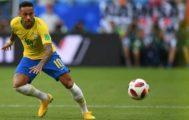 Neymar, durante el partido ante México en el Samara Arena.