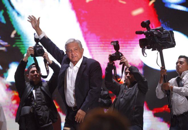 El presidente electo de México, Andrés Manuela López Obrado.