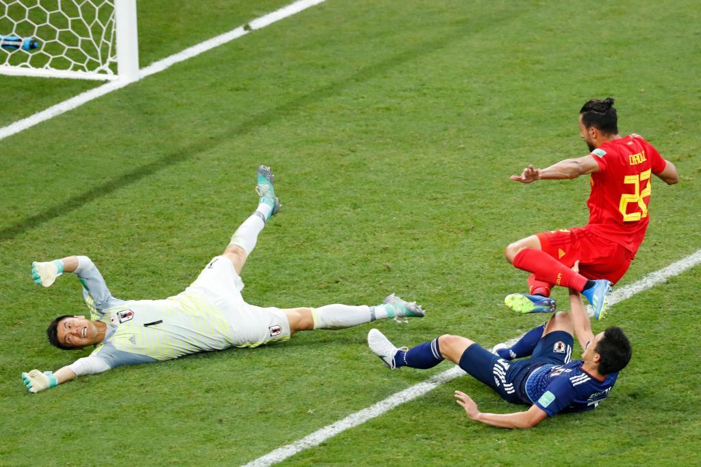 Bélgica esquiva el drama ante una heroica Japón