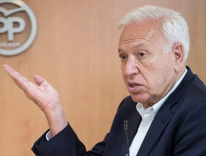 El ex ministro y candidato a la presidencia del Partido Popular, José...