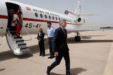 El ministro del Interior, Fernando Grande-Marlaska, a su llegada hoy a...