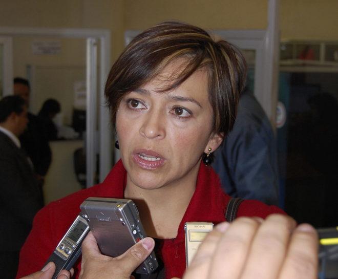 Anabel Hernández, periodista.